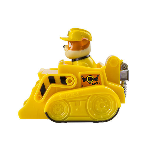 Paw Patrol Racers Rubble Figure and Vehicle