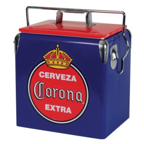 Koolatron 13 l Stainless Steel Corona Ice Chest Cooler