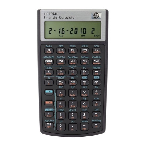 HP 10bII+ Financial Calculator