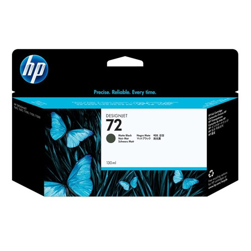 HP 72 Matte Black Ink Cartridge (C9403A)