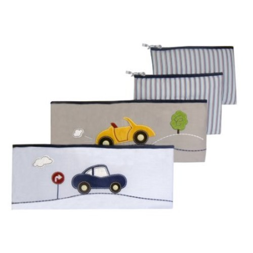 Laugh, Giggle & Smile My Little Town 4 Piece Bumper Pad Set