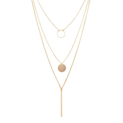 Matchstick Circle Necklace Set