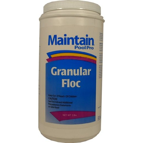 Maintain POOL PRO Granular FLOCCULANT CLARIFIER Chemical For Swimming Pools- 2 x 5 lb Bottles