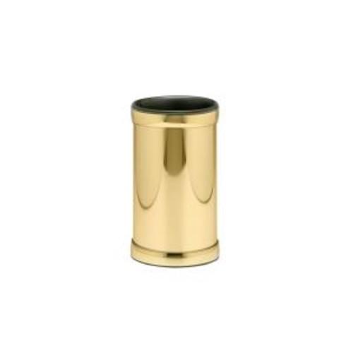 Kraftware Americano Polished Brass Deluxe Wine Chiller