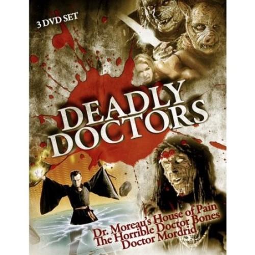 Deadly Doctors [3 Discs] [DVD]