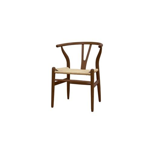 Dark Brown Wishbone Chair (Set of 2) by Design Studios