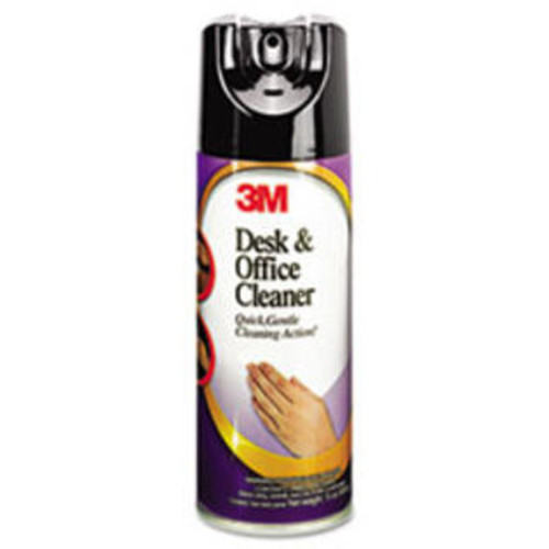 3M Desk & Office Spray Cleaner, 15 oz. Aerosol, 12/Carton