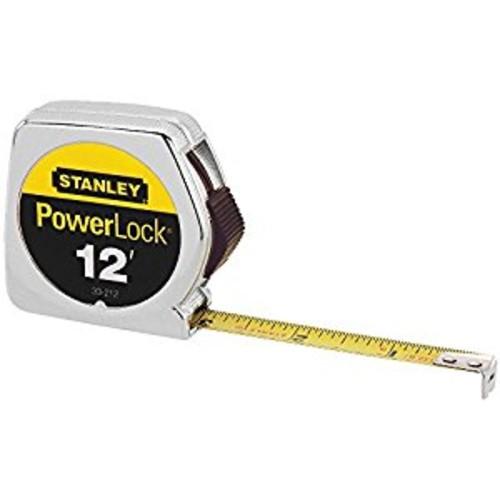 Stanley 33-212 12-Foot PowerLock Tape Rule [12-Foot]