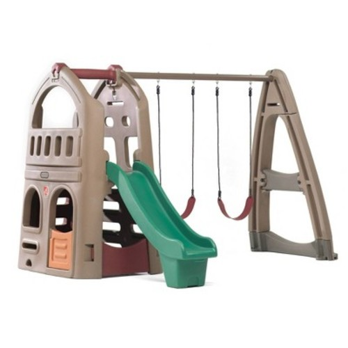 Step2 Naturally Playful Playhouse with Slide & Swing