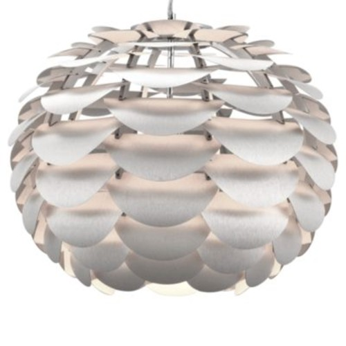 Zuo Accents Tachyon 1-Light Aluminum Ceiling Lamp