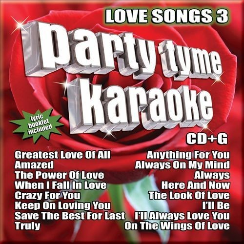 Party Tyme Karaoke: Love Songs, Vol. 3 [CD]
