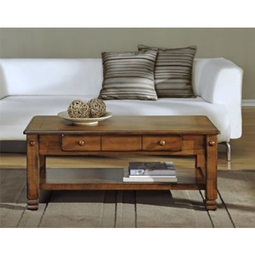 Altra Summit Mountain Wood Veneer Coffee Table, Tuscany Oak (3505196)