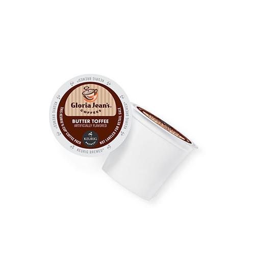Keurig Gloria Jean's Butter Toffee K-Cup 18 Count
