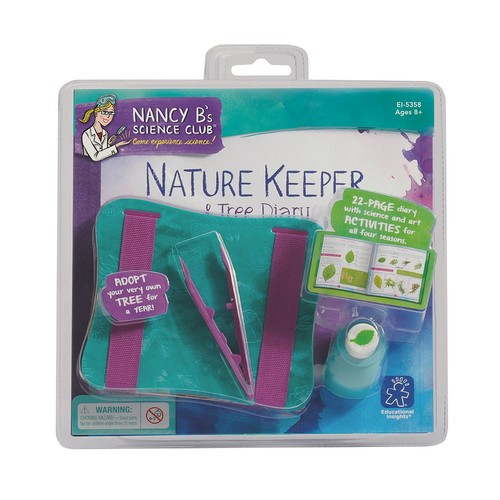 Educational Insights Nancy B's Science Club Nature Keeper & Tree Diary