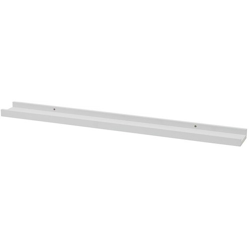 Wallscapes Photo Ledge 31.5 in. W x 3.5625 in. D White Decorative Ledge Shelf