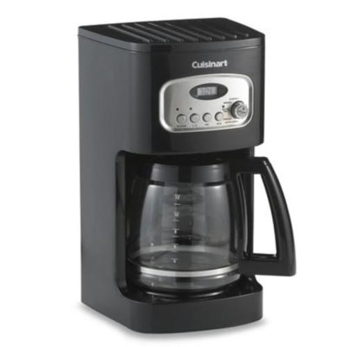 Cuisinart 12-Cup Programmable Coffee Maker in Black
