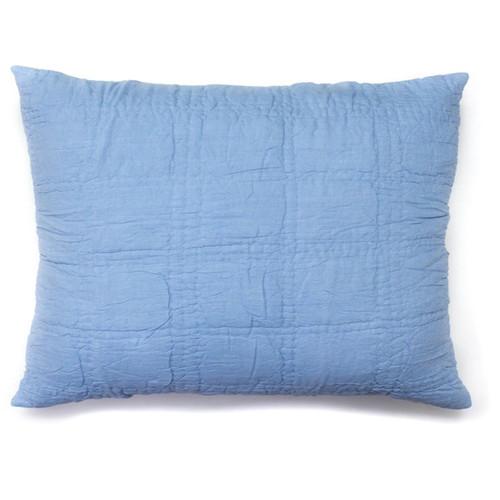 Cottage Home Pillowcases & Shams Wyatt Blue Sham