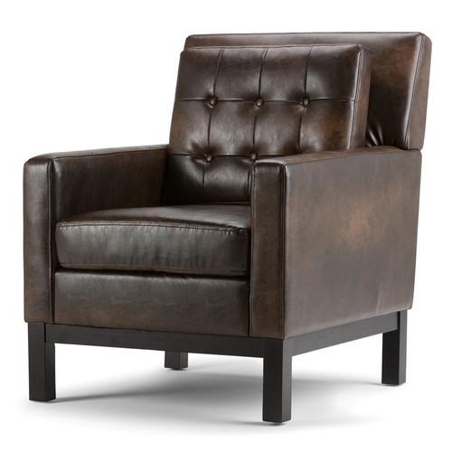 Simpli Home Carrigan Club Arm Chair