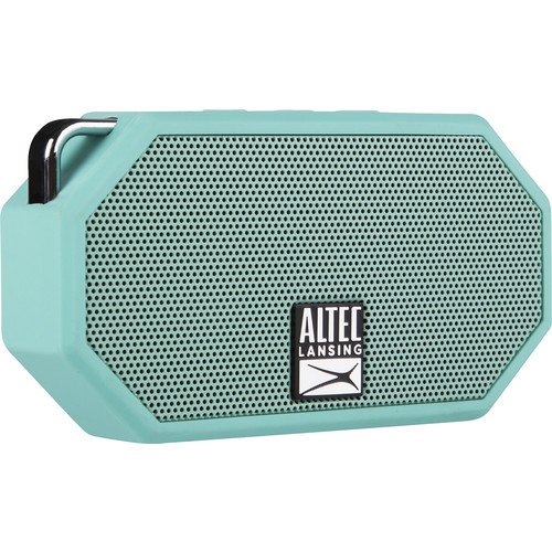 ALTEC LANSING - Mini H20 Portable Bluetooth Speaker - Mint