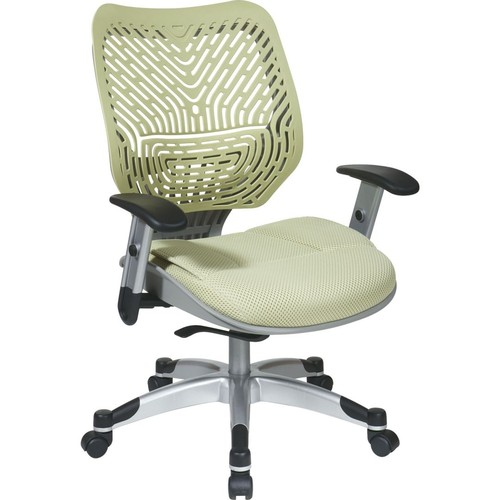 Office Star Space REVV Series Fabric Self Adjusting SpaceFlex Back Manager's Chair, Kiwi
