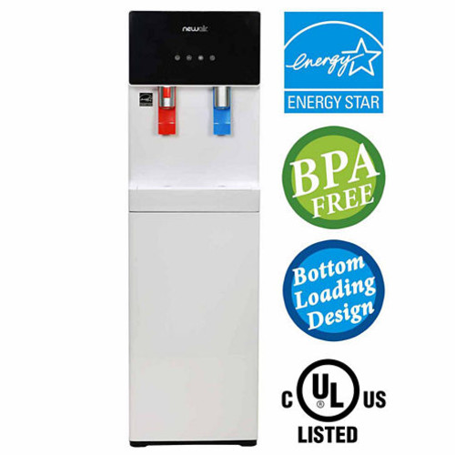 Air Pure Spring WAT40W BPA Free Hot Cold BottomLoading Water Dispenser