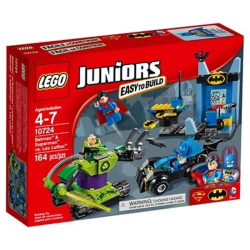 LEGO Juniors Batman and Superman vs. Lex Luthor (10724)
