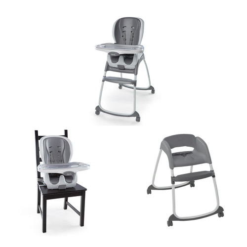 Ingenuity Smartclean Trio 3 In 1 High Chair Slate
