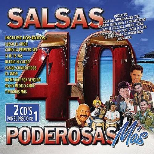 40 Salsas Poderosas Mas [CD]