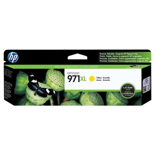 HP 971XL Yellow High Yield Original Ink Cartridge (CN628AM)