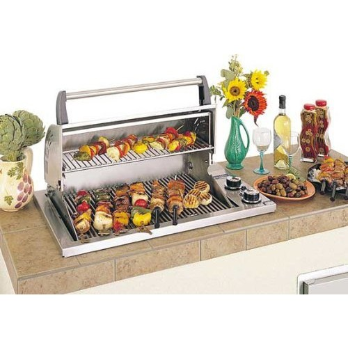 Fire Magic Legacy Deluxe Gourmet Propane Gas Countertop Grill