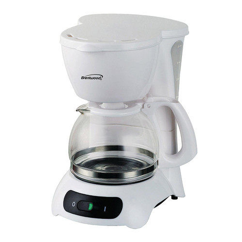 Brentwood 97094442M 4 Cup Coffee Maker - White