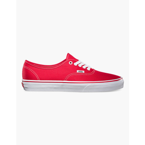VANS Authentic Red Shoes