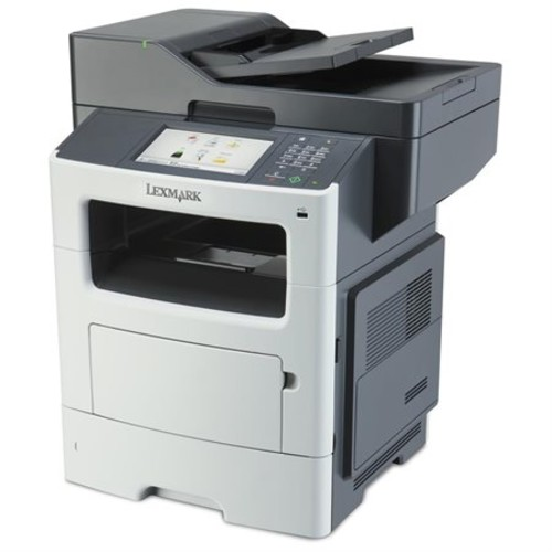 Lexmark MX611DE Laser Multifunction Printer - Monochrome - Plain Paper Print - Desktop - Copier/Fax/Printer/Scanner - 50 ppm Mono Print - 1200 x 1200 dpi Print - 50 cpm Mono Copy - 7