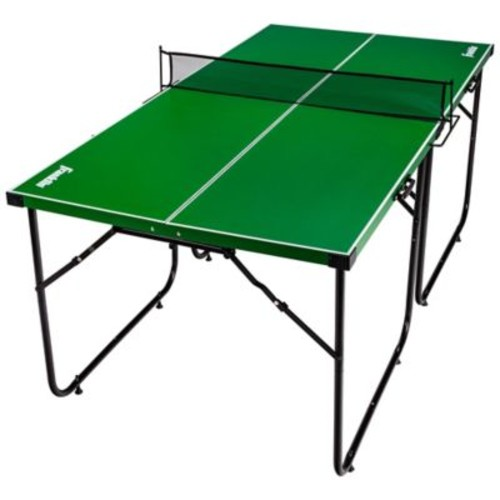 Franklin Sports Official Height Mid-Size Table Tennis in Black/Green