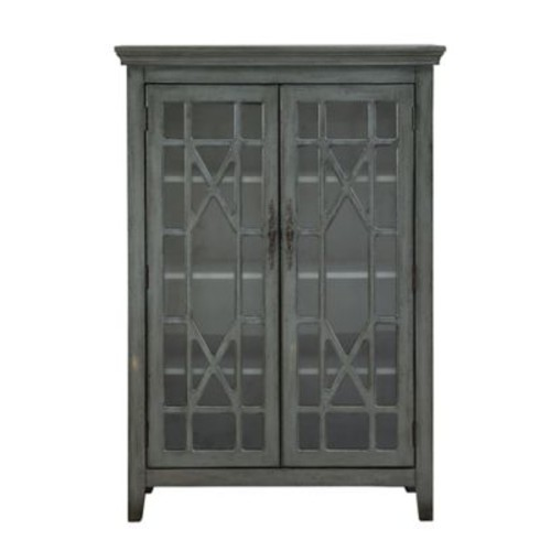 August Grove Jean-Baptiste 52'' Standard Bookcase; Gray