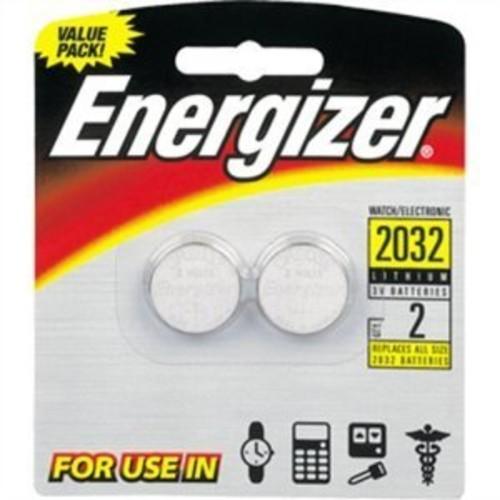 3V Coin Lithium Batteries - Energizer(2-Pack) (Size 2032)
