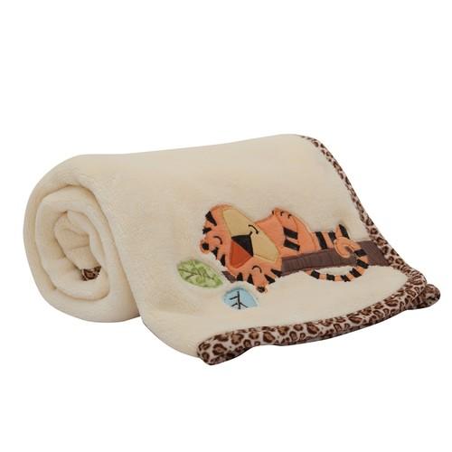 Lambs & Ivy Treetop Buddies Fleece Blanket