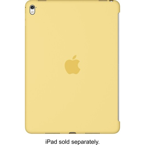 Apple - Silicone Cover for 9.7-inch iPad Pro - Yellow