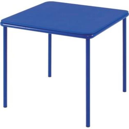 COSCO Products 14314BLU1E Cosco Kids Vinyl Top Table Blue