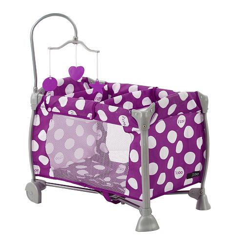 Icoo Starlight Play Yard - Purple