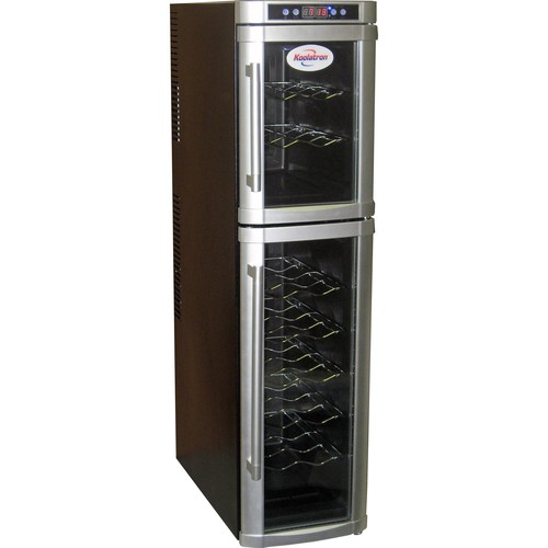 Koolatron WC18 18-Bottle Dual Zone Wine Cellar
