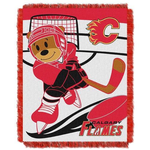 NHL Calgary Flames Baby Jacquard Score Throw