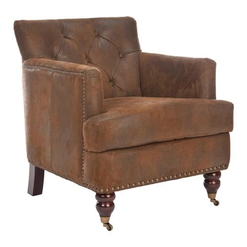 Safavieh HUD8212B Colin Tufted Club Chair