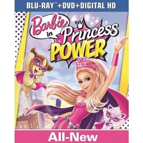 Barbie in Princess Power Blu-Ray Combo Pack (Blu-Ray/DVD/Digital HD)