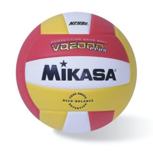 Mikasa Premier Series Indoor Competition Volleyball, Scarlet/G