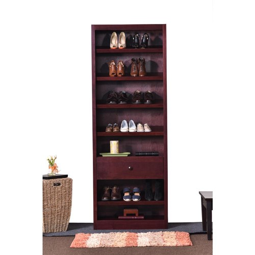 Concepts In Wood Cherry Storage Bookcase