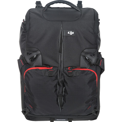DJI - Manfrotto Phantom Backpack - Black/Red