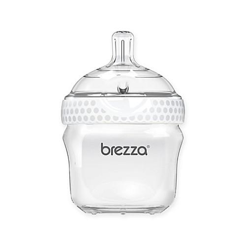 Baby Brezza 5-Ounce Polypropylene Bottle in White