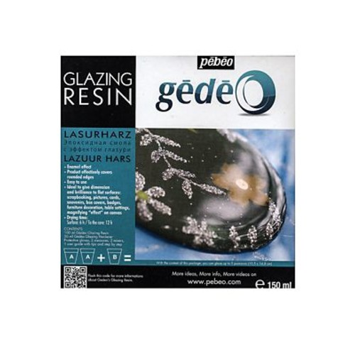 Pebeo Gedeo Glazing Resin 150 Ml (766170CAN)