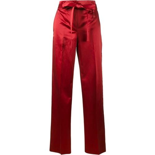 HELMUT LANG Satin Wide-Leg Trousers